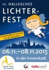11. Hallesches Lichterfest in Halles Innenstadt