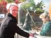 Seebär Molly freut sich heute über den Besuch seiner Patentante