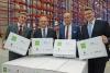 Goodman und eBay Enterprise feiern die Eröffnung des neuen  E-Commerce-Logistikzentrums im Star Park Halle